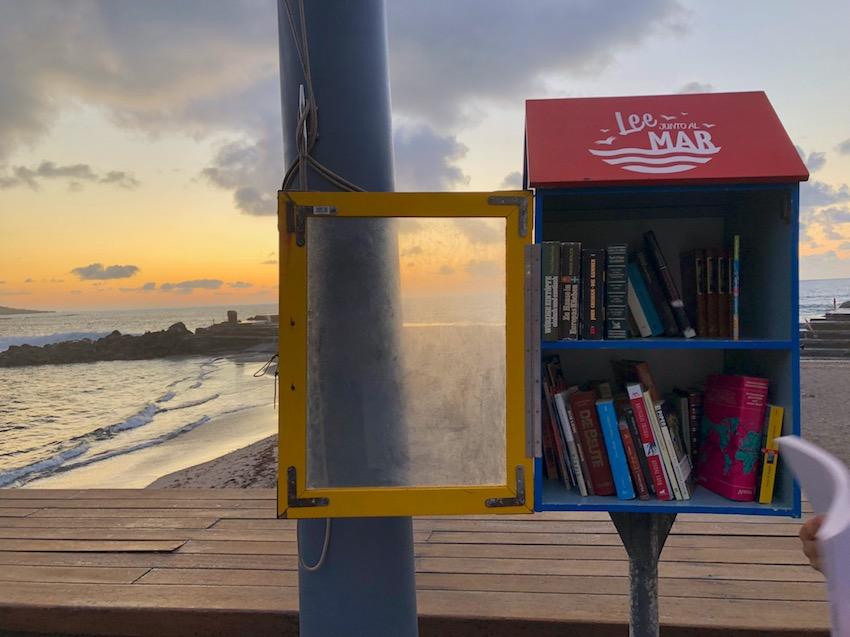 Biblioteca de playa Bajamar Tenerife