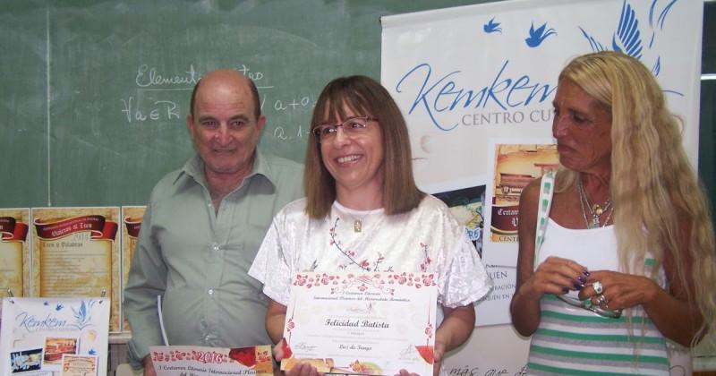 Felicidad Batista. Primo Premo Pleamar. Quequén. Argentina. Centro Cultural Kem Kem